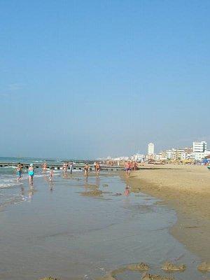 Pláž v Lido di Jeselo
