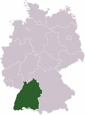 Bádensko-Württembersko - Bádensko-Württembersko Zdroj: wikipedia.org (nahrál: admin)