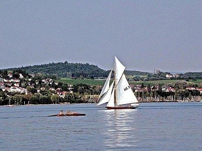 Bodamské jezero - Bodamské jezero. Zdroj: Wikipwedia.org (nahrál: admin)