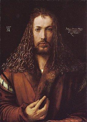 Albrecht Dürer - autoportrét - Albrecht Dürer - autoportrét. Zdroj: Wikipedia.org (nahrál: admin)