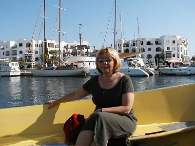 Katamarán v přístavu (nahrál: HelčaS)