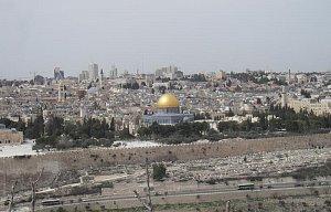 Výlet v Jeruzalémě