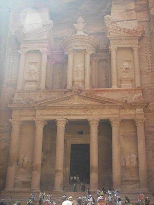 Skalní město Petra - Jordánsko