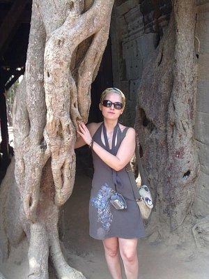 Siem Reap-chrámy Angkoru