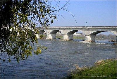 Amboise - Most gen. Leclerka přes Loiru (nahrál: Radek David)