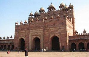 Sever Indie-mezi Džajpurem a Agrou