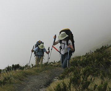 Nový Zéland – Cascade Saddle
