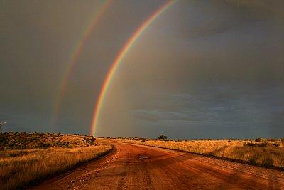 čarokrásná obloha je obzvláště po období dešťů (nahrál: Martina Svobodova)