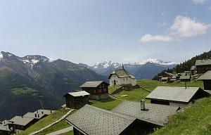Švýcarsko, Wallis, Bettmeralp