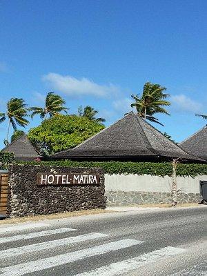 Francouzská Polynésie - Bora Bora ,Hotel Matira