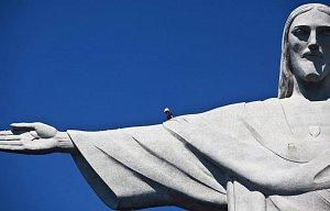Rio de Janeiro- oprava sochy Krista