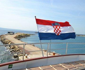 Chorvatsko - 5 ostrovů, kola, loď