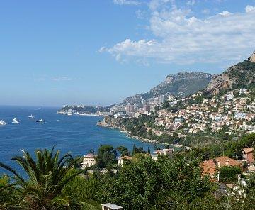 Monaco - Monte Carlo, Azurové pobřeží