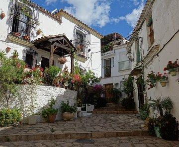 Uličky Estepony - Andalúzia