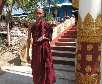 RYBÁŘSKÉ VESNICE V OBLASTI NGAPALI BEACH - MYANMAR 2012