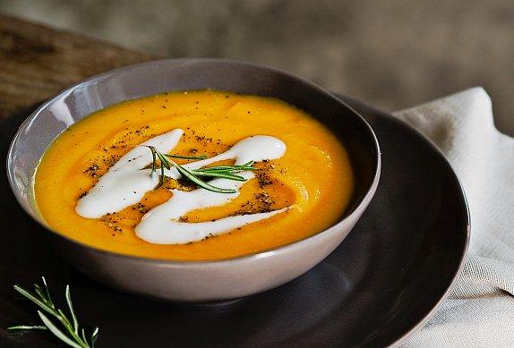 Pumpkin Soup - Dýňová polévka