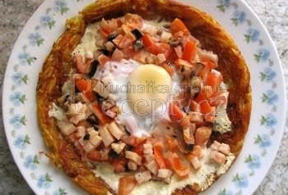 Jánošíkova pochoutka aneb selská omeleta photo-0