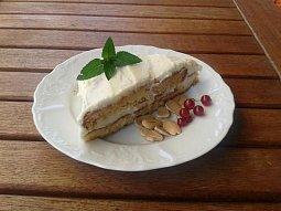 Mandlový dort DIA