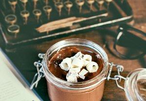 Čokoládová panna cotta