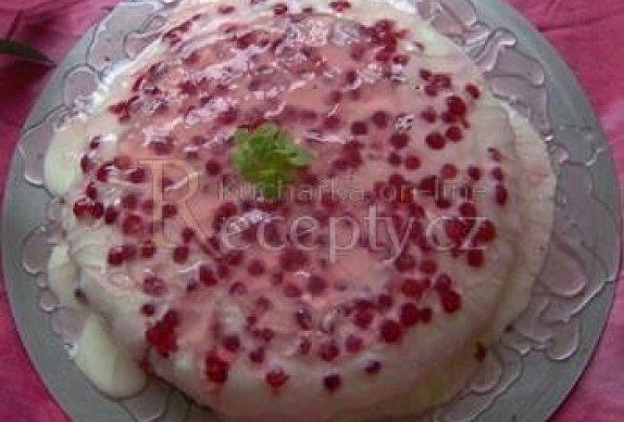 Rybízový dort s tvarohem