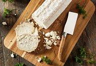 Chlebíčky s pečenou dýní a kozím sýrem