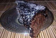 Kakaová buchta s polevou