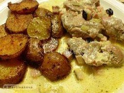 Panenka Mňam s bramborovými dukátky