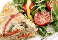 Zeleninový koláč (quiche)
