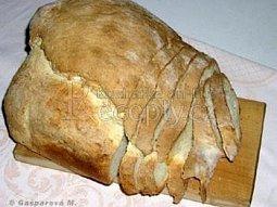Domácí chléb s pivem