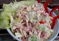 Ledový salát s kapií