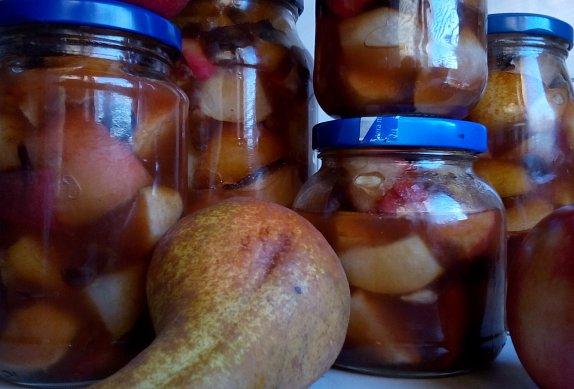 Jablečno-hruškový pečený čaj photo-0