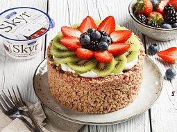 Skyr snídaňový koláč