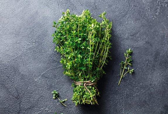 Houby v sádle s bylinkami
