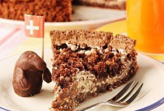Domácí krtkův dort na plechu