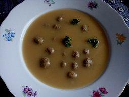 Kuřecí kaldoun - polévka