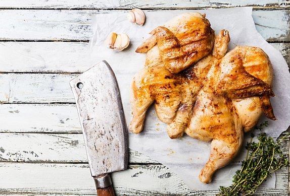 Salát z rýžových nudlí s kuřetem