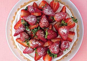 Recept na úžasný jahodový koláč