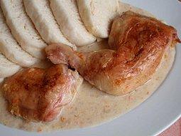 Kuře pečené na halali