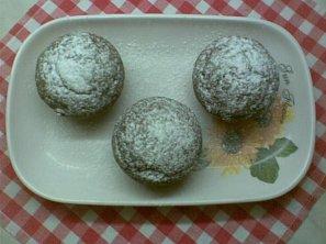 Perníkové muffiny s čokoládovým krémem