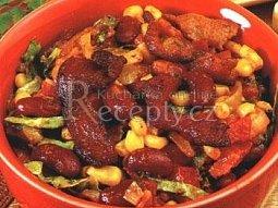 Pikantní fazolová pochoutka