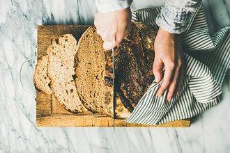 Recepty na domácí chleba – postup přípravy, suroviny a více variant receptu