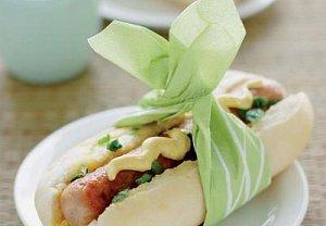Pálivé hotdogy