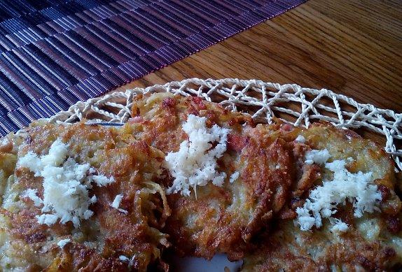 Křupavé bramboráčky s křenem