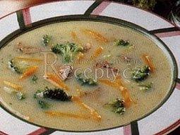 Krémová slepičí polévka
