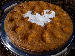 Rychlý mrkvový koláč s ovocem - vláčný