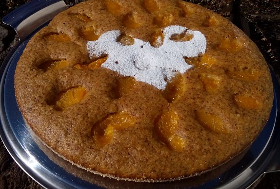 Rychlý mrkvový koláč s ovocem - vláčný photo-0