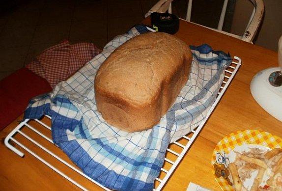 Kmínový pšenično-žitný chléb photo-0