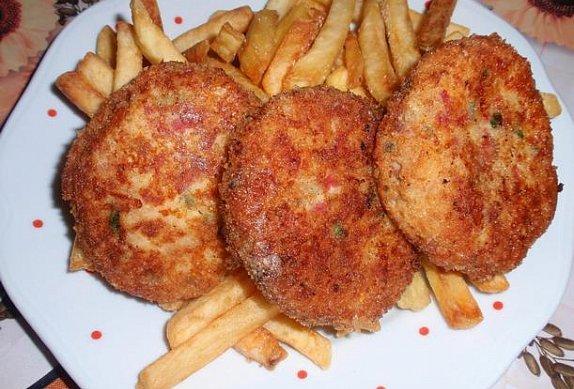 Jednoduché sýrové řízky (karbanátky, krokety)