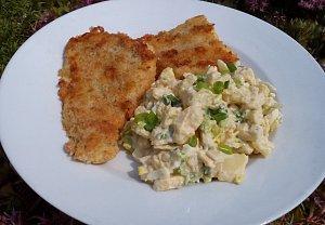 Svěží bramborový salát