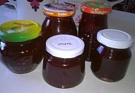 Ostružinový džem s jahodami